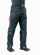 Black Uniform EMT Pants - Full View