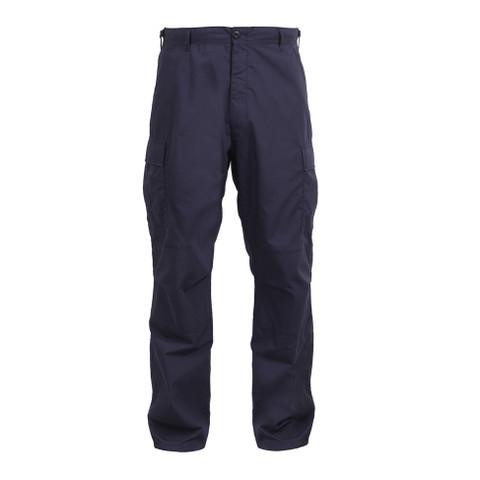 Navy Uniform EMT Pants - Front View