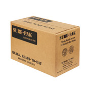 Sure Pak MRE Meals w/Heaters - Box