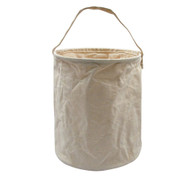 Natural Canvas Water Buckets - View