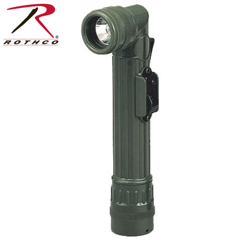 Military Mini Army Style Flashlight - Rothco View