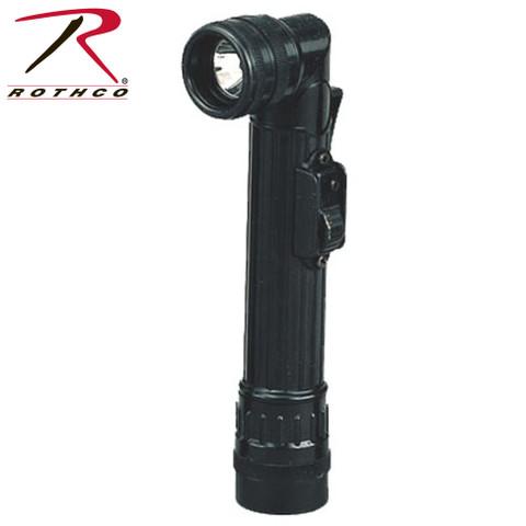 Mini Army Style Angle Flashlight - Rothco View
