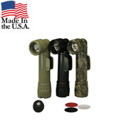 Military Angle Head Flashlight (U.S Made)