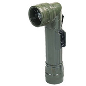 G.I Style Olive Angle Head Flashlight - View