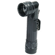 G.I Style Black Angle Head Flashlight - View