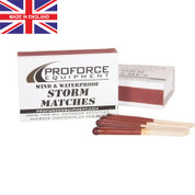 Nato Survival Weatherproof Storm Matches - Made UK View