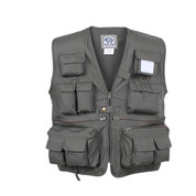Safari Camp Vest - Front View