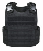 Molle Plate Carrier Vest - Front View