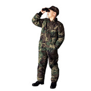 Kids Camo Cold Weather Insulated Coverall - View
