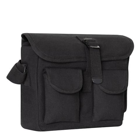 Black Ammo Shoulder Bag - View