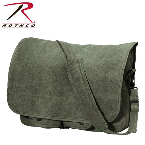 Adventurer Paratrooper Messengers Bag - Rothco View