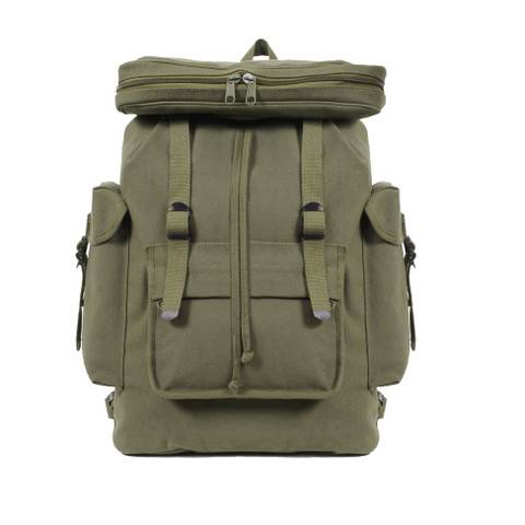 European Canvas Rucksack -  View