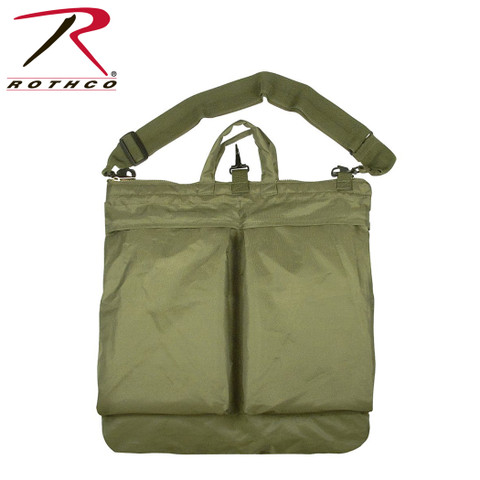Olive Drab Flyers Helmet Shoulder Bag - Rothco View
