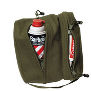 Canvas Dual Compartment Travel Kit Bag - View