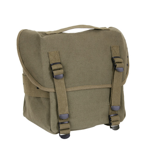 GI Style Canvas Butt Pack - Side View