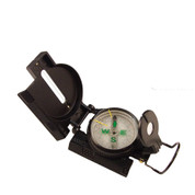 Black Tactical Marching Lensatic Compass