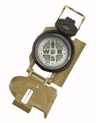 Khaki Marching Lensatic Compass