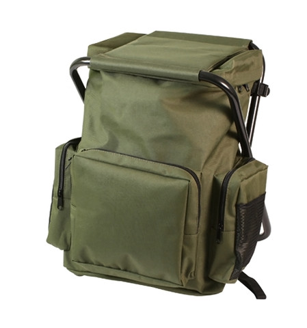 Backpack & Stool Combo Pack - Full View