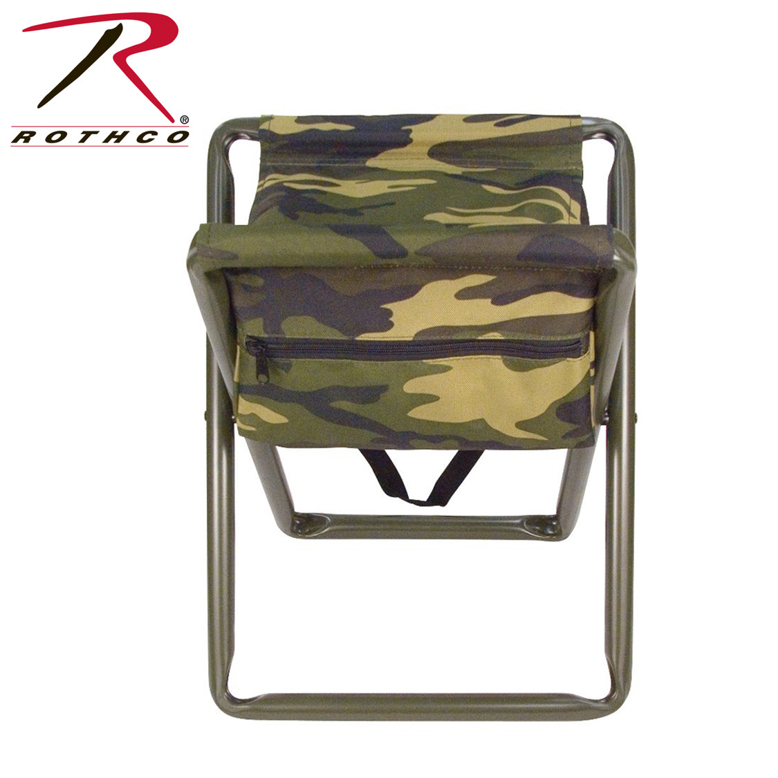 Shop Deluxe Camo Folding Stool W Pouch Fatigues Army