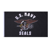 United Staes Navy Seals Team Flag - View