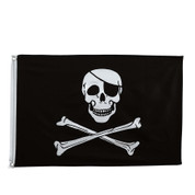 Jolly Roger Flag - View