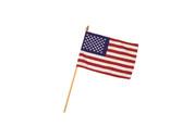 US Parade Flag on Stick