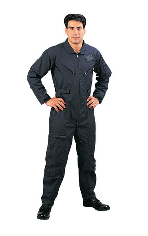 Navy Military Air Force Style Flight Suit - View