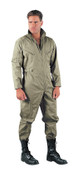 Foliage Green Military Air Force Style Flight Suit - View