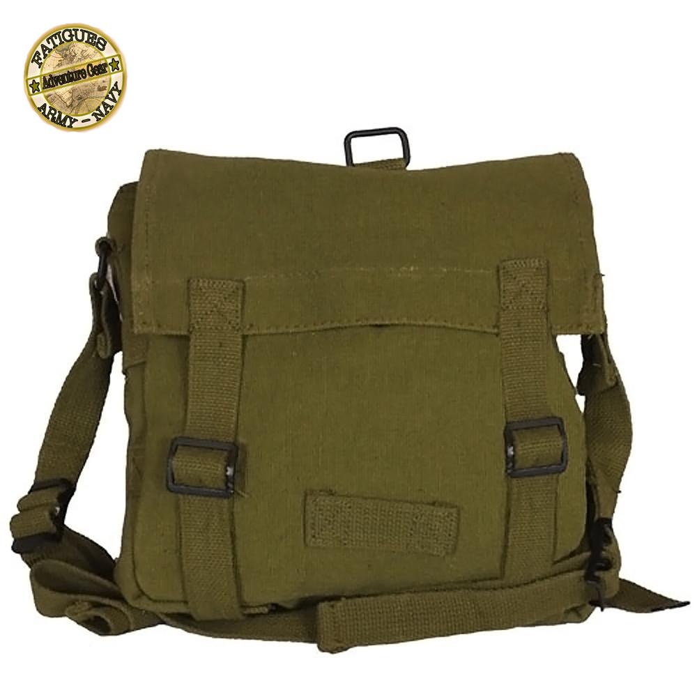 d460526a8d Shop German Army Canvas Bread Bags - Fatigues Army Navy Gear