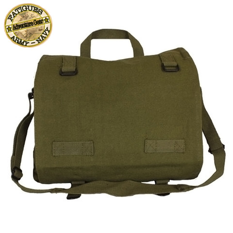 German Army Canvas Field Bags - Fatigues View