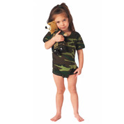 Infant Woodland Camo One Piece Bodysuit - View