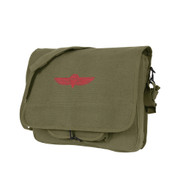 Israeli Army Paratrooper Shoulder Bags - Front Strap View