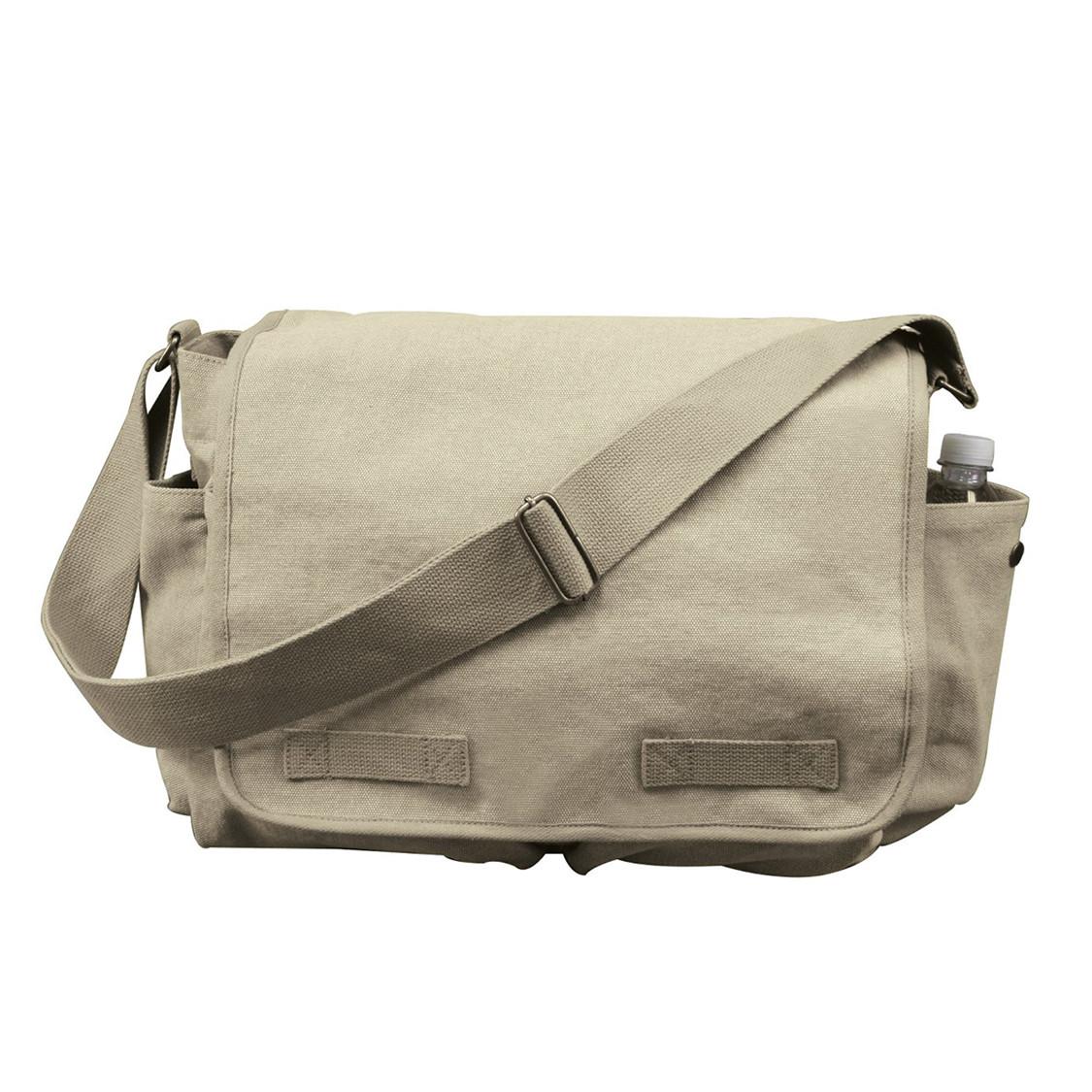 67780eb92 Shop Vintage Khaki Canvas Messenger Bags - Fatigues Army Navy Gear Bags