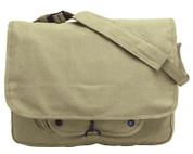 Vintage Khaki Canvas Paratrooper Gear Bag - View