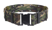 Marine Style Quick Release Camo Pistol Belts
