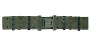 G.I. Style Quick Release Pistol Belt-Olive-Free Shipping