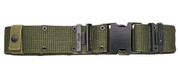 Olive Drab Genuine Issue Pistol Belt - Free Shipping