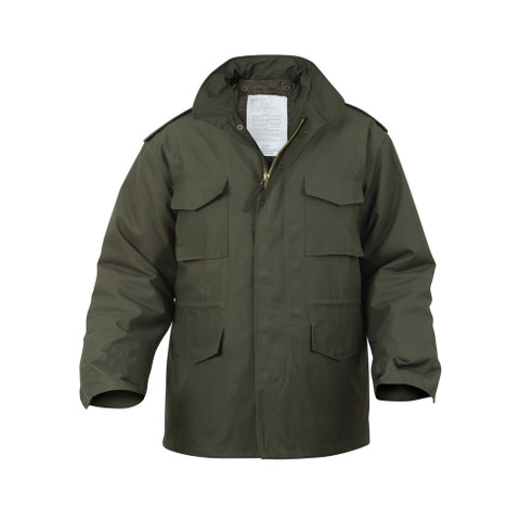 Rothco Olive Drab M-65 Field Jackets - 3D View