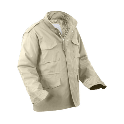 Khaki M-65 Field Jackets - View