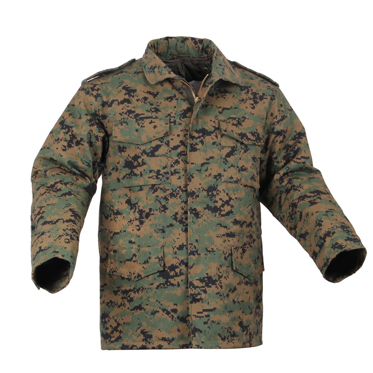 9706013031eaa Shop Military Woodland Digital Camo M-65 Field Jackets - Fatigues Army Navy
