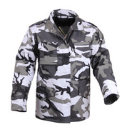 Urban Camo M-65 Field Jackets - Front View