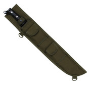 Molle Compatible Machete Sheath - Olive Drab