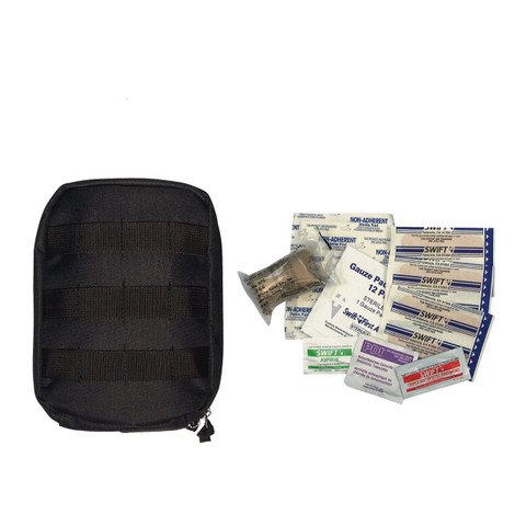 Molle Tactical First Aid Kit - Complete View