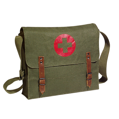 Olive Drab Canvas Nato Medics Bag - View