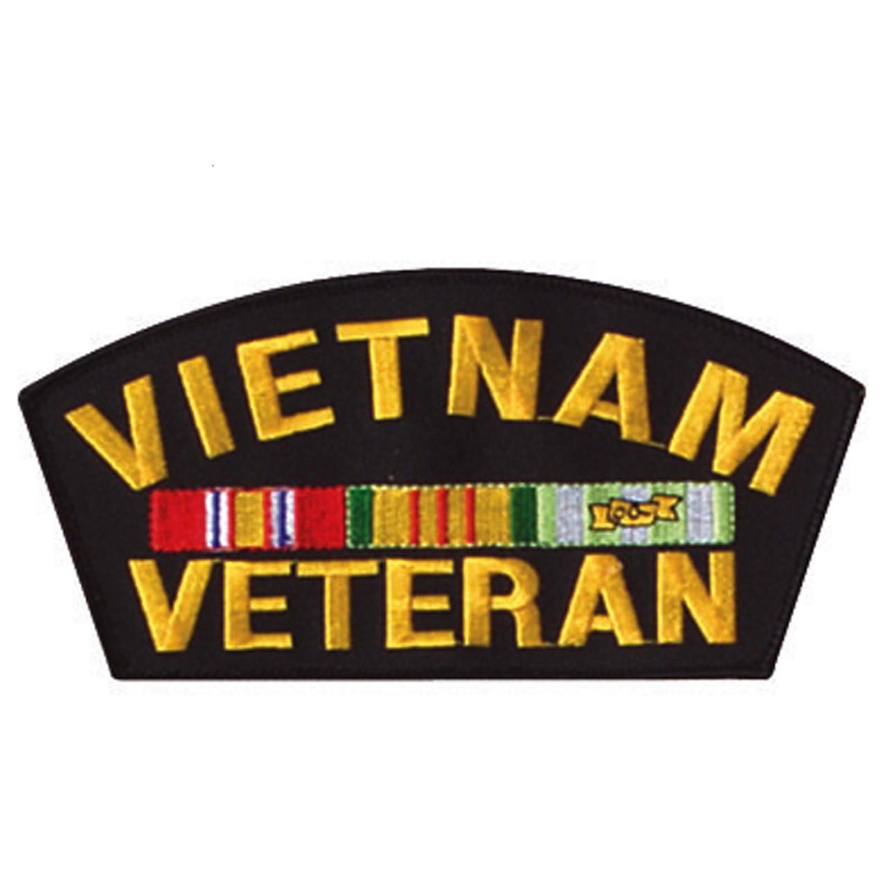 33b4bfbfa6b Shop Vietnam Veteran Patch - Fatigues Army Navy Gear