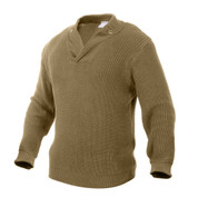 WW II Style Vintage Mechanics Jeep Sweater - Full View