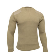 Khaki Outdoor Shooting Sweater -  View