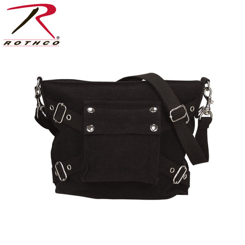 Street Fashion Vintage Gear Shoulder Bag - Rothco View