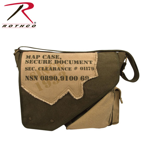 Street Secure Documents Map Bag - Rothco View