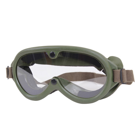 Military Type Goggles - View
